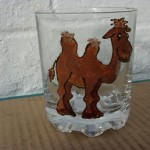 Glass Camel Tumbler