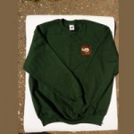 WOOLEN SWEATSHIRT WITH WCPF LOGO