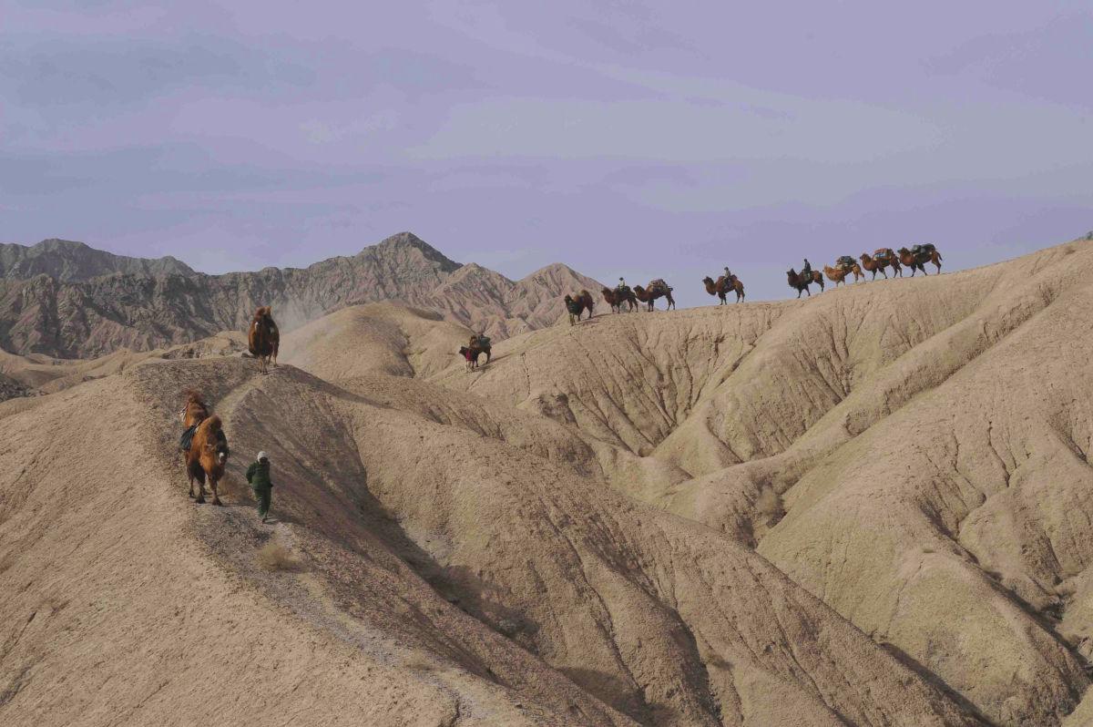 Trekking en el Desierto de Lop, China