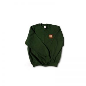 Woollen sweatshirt with WCPF logo