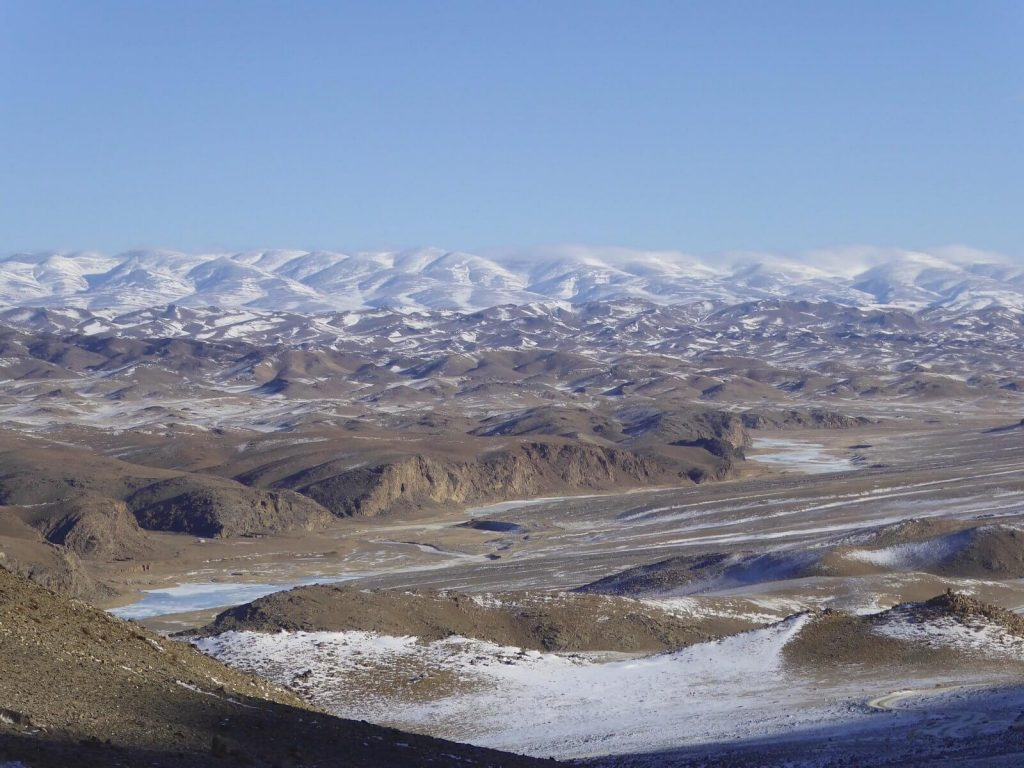 WCPF breeding centre at Zakhyn Us, Mongolia